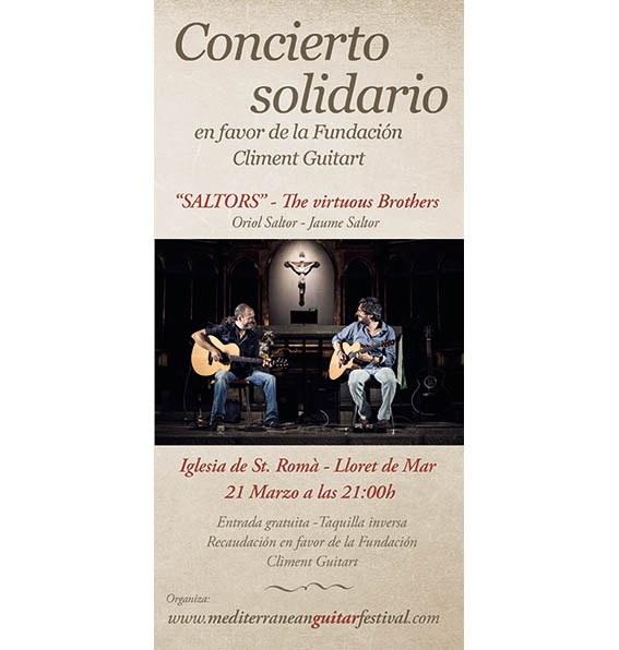 Concert. Cicle Concerts Solidaris 'Saltors' Oriol i Jaume (cancel·lat)