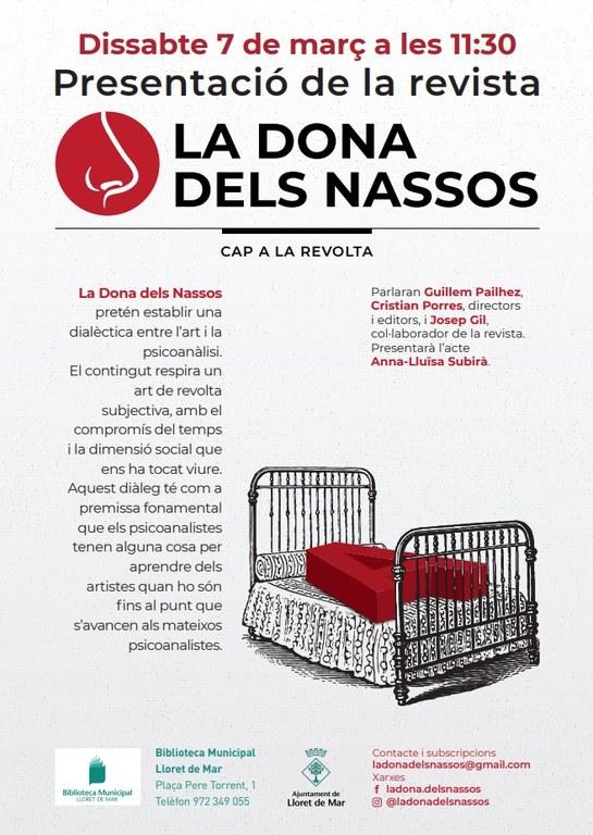 Presentació de la revista 'La dona dels nassos'