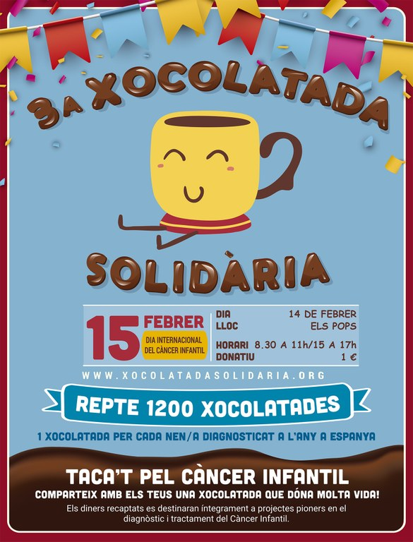 3a Xocolatada Solidària - Llar d'Infants Els Pops