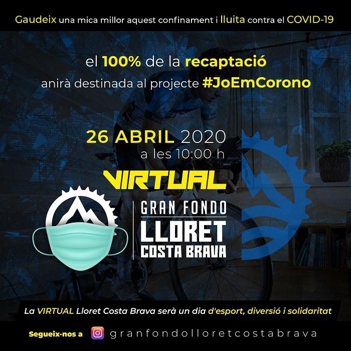 Virtual gran fondo Lloret Costa Brava