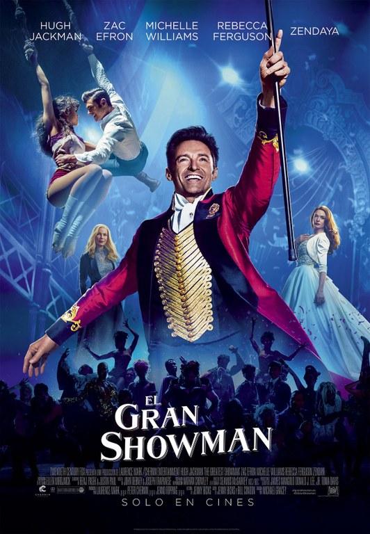 Cinema. Projecció de 'The Greatest Showman'.