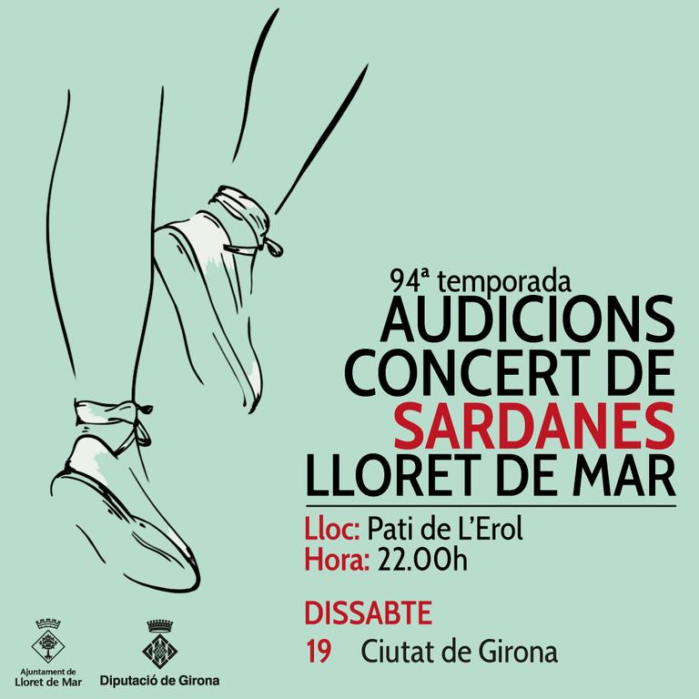 Audició-concert de Sardanes