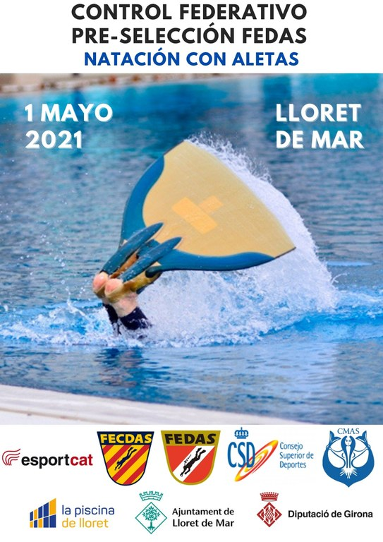 Campionat Espanya Natació amb Aletes