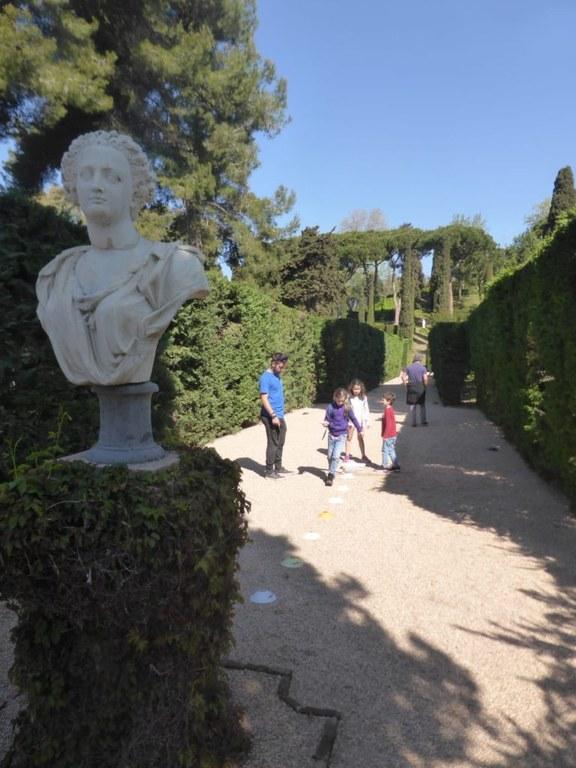 Gimcana familiar - l'Enigma dels Jardins