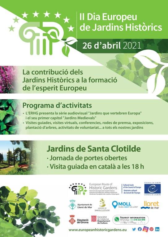 II Dia Europeu de Jardins Històrics