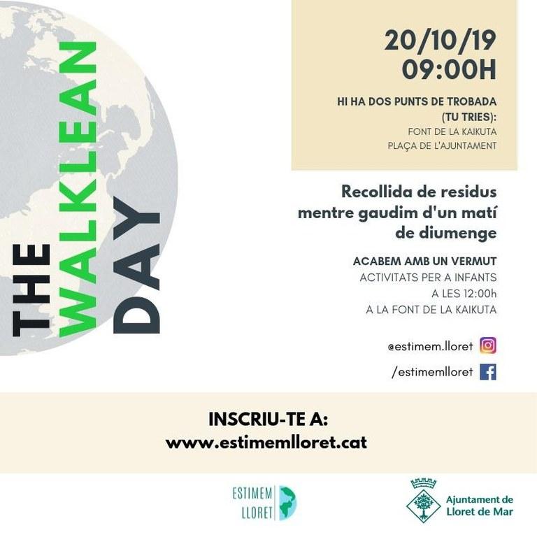 20/10 - Estimem Lloret organitza una neteja a diferents punts del municipi per conscienciar la població