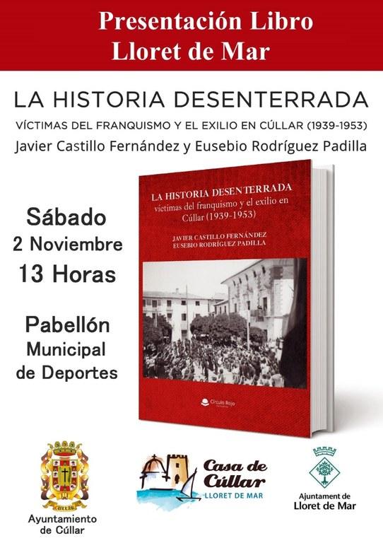 """Presentació del llibre """"La Historia desenterrada"""""""