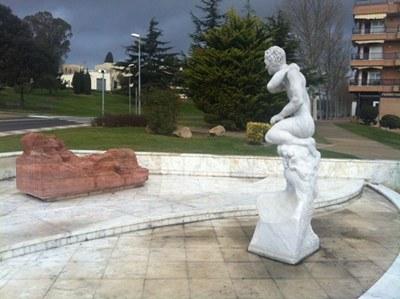Escultura Apol·lo i Dafne