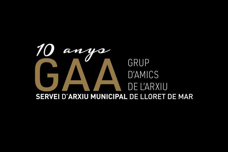 10 anys del grup Amics de l'Arxiu (GAA)