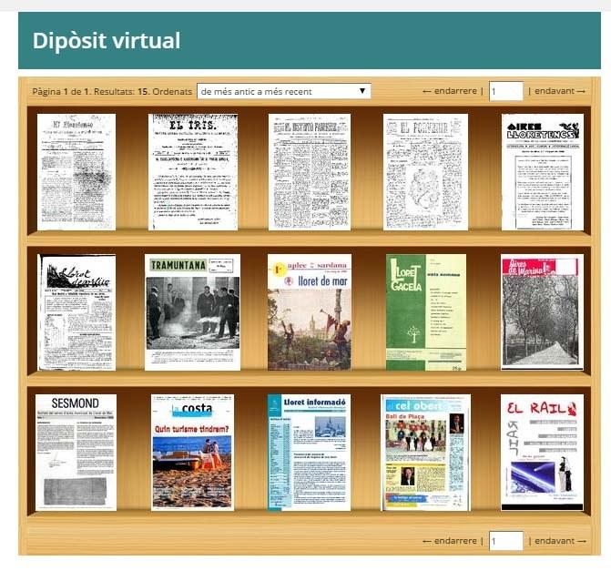 Accés al nou dipòsit virtual