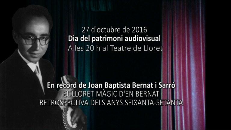 Dia del Patrimoni Audiovisual 2016