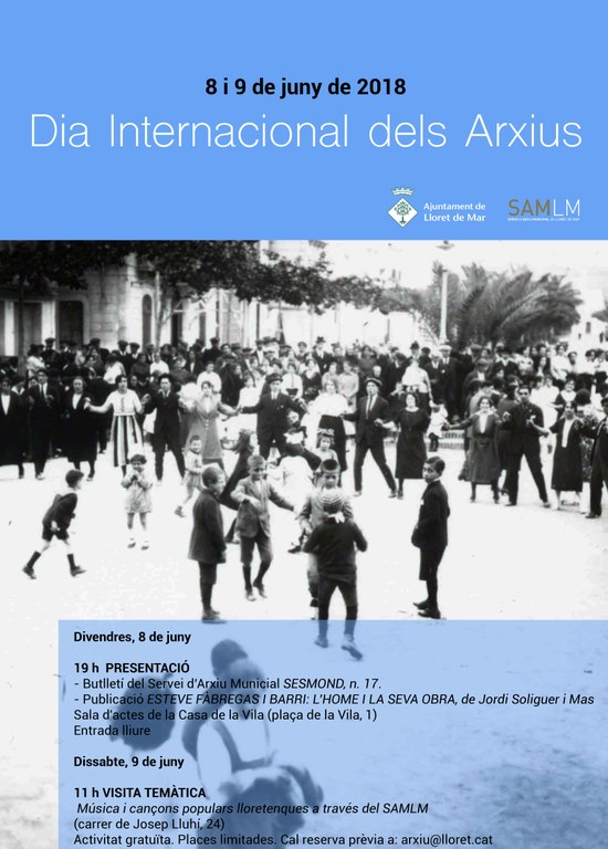 Dia Internacional dels Arxius 2018
