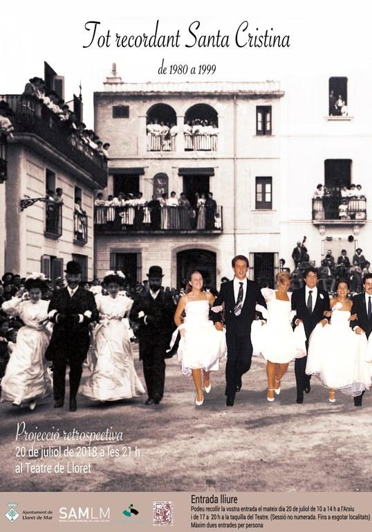 Tot Recordant Santa Cristina del 1980 - 1999