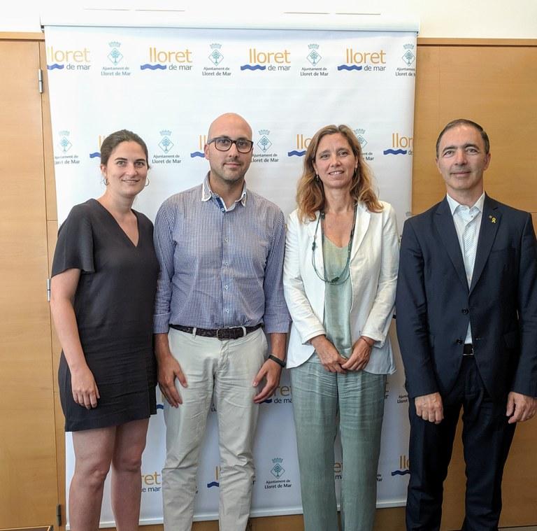 Lloret acull una sessió de treball de les Àrees de Promoció Econòmica Urbana (APEUs)