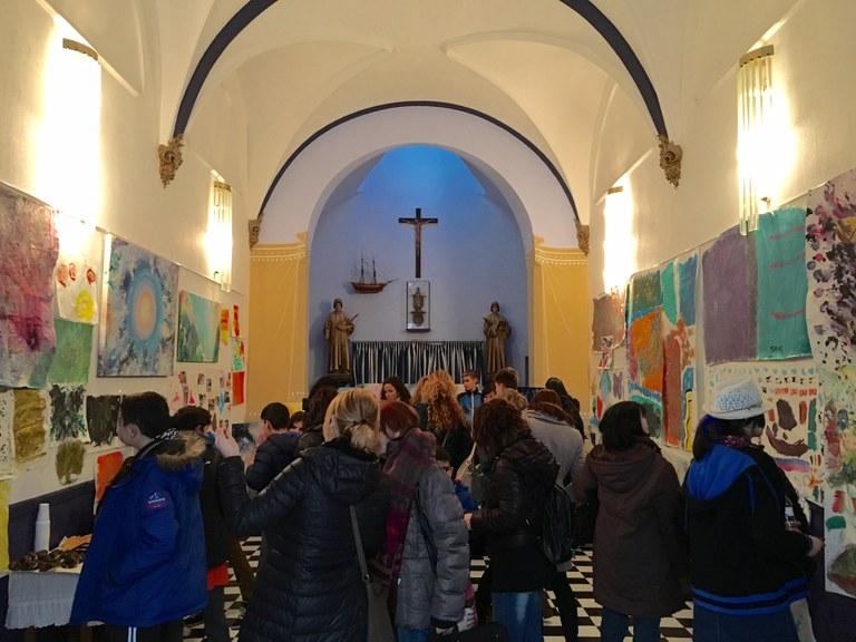 Inauguració de l'exposició d'Arteràpia de l'alumnat de les USEE de Lloret de Mar