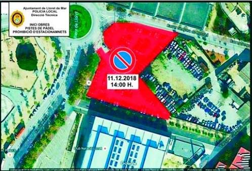 Prohibició d'estacionament