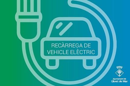 Targeta vehicle elèctric Lloret petita
