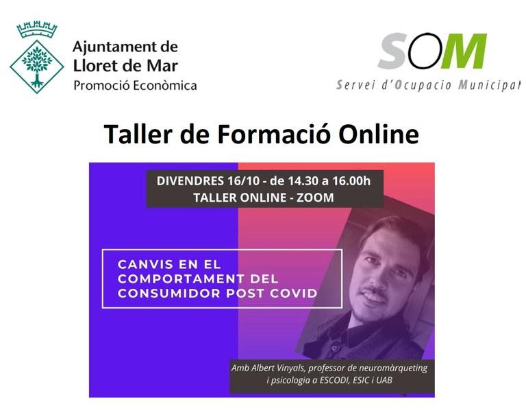Seminari Online d'Emprenedoria i Empresa: Canvis en el comportament del consumidor post Covid